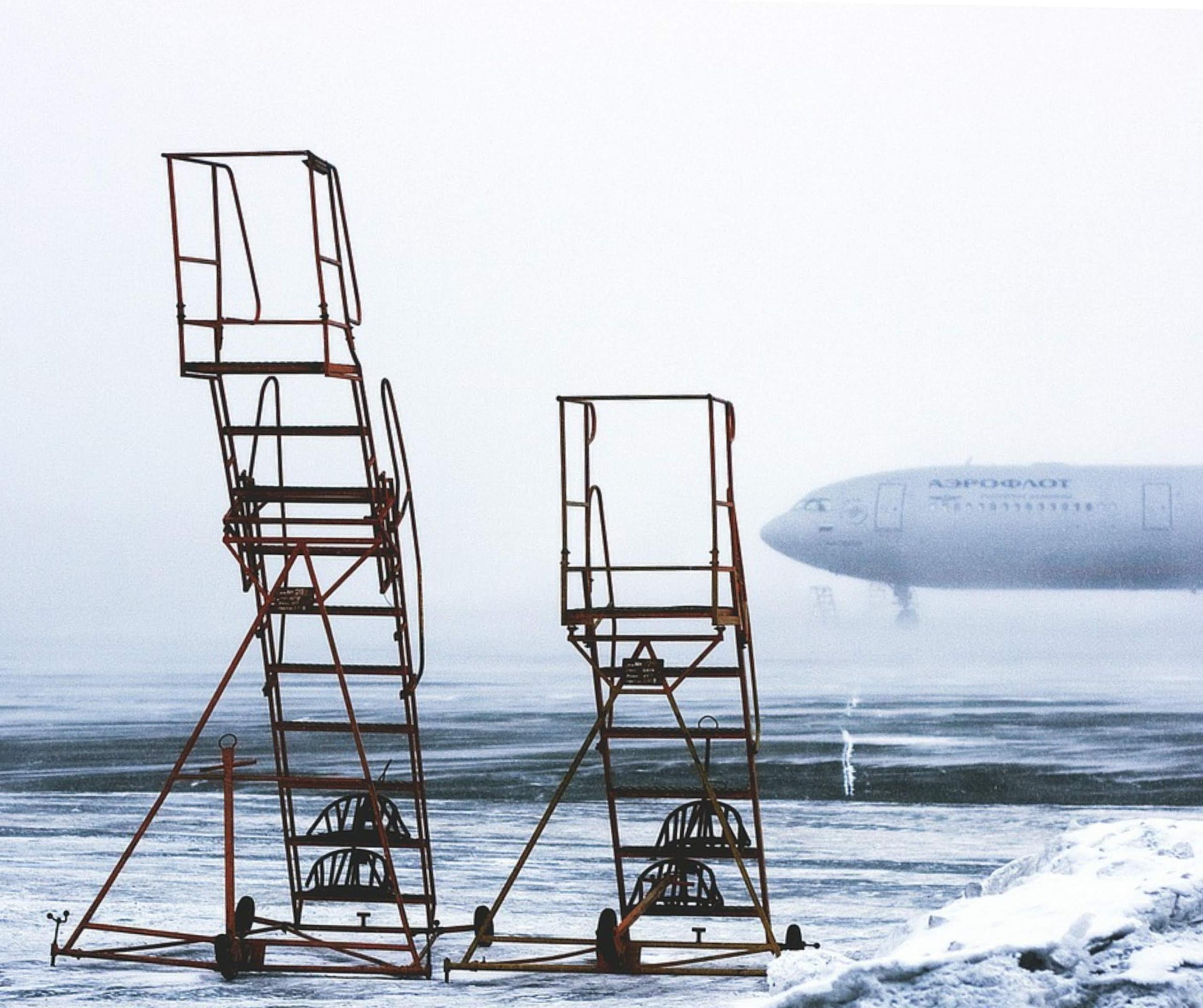 Heiratsantrag Flugzeug