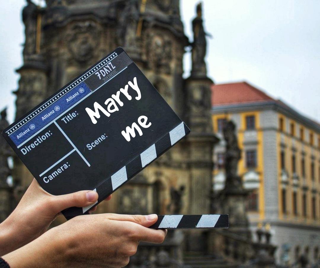 Video Heiratsantrag